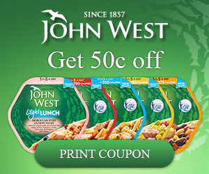John West Coupon