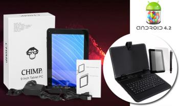 €99 for a 9 inch Dual Core Android 4.2 Tablet Bundle which includes Keyboard Case, Screen Protector & Stylus Pen, delivered.