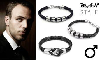 A choice of Men's Bracelet for only €12 with Free Delivery.