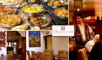 €37 for an Authentic 3-Course Lebanese Meal for 2 with a Glass of Wine each at Damascus Gate, Dublin 2