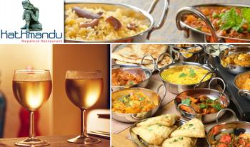 Enjoy a 2 Course Meal for 2 People from the A La Carte Menu at Kathmandu Nepalese Restaurant, Dalkey for just €28