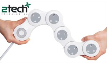 €28 for a Pivot Power adjustable power strip by Quirky, Delivered.