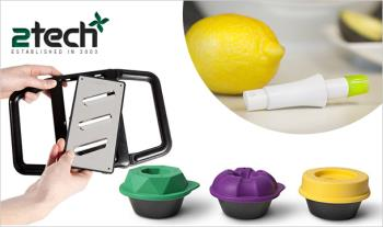 Kitchen Essential Bundle for €45 including Grip Grater, Bake Shapes and Stem.