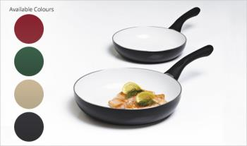 €29.99 for a 24cm Ceramic Pan and 20cm Pan (worth €59), in a choice of colours, Delivered.
