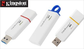 Kingston DataTraveler Generation 4 (DTIG4) USB Flash Drive, in a range of sizes, from €9.99, Delivered.