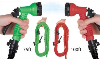 €29.99 for 75ft or €35.99 for 100ft XXL Expandable Hose & Water Canon, Delivered.