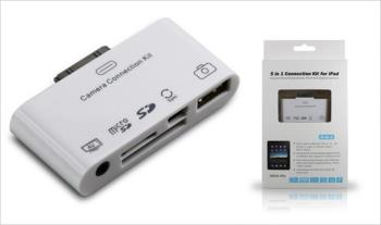 iPad 5 in 1 AV Camera Connection Kit for only €15 with Free Delivery.
