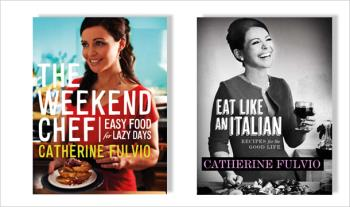 €22.99 for 2 x Catherine Fulvio Cookery Books with Free Delivery.