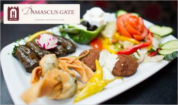 €54 for an Authentic 2 Course Lebanese Meal with Sides & a Bottle of Wine at Damascus Gate, Dublin 2