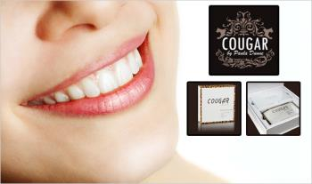 Cougar Deluxe Teeth Whitening Kit for only €24 with Free Delivery.