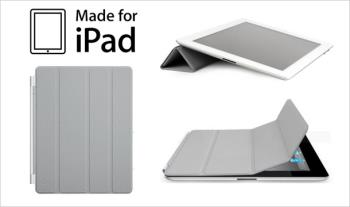 €9 for an iPad Magnetic Smart Case available in Grey with Free Delivery.