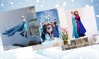 Frozen Wall Stickers, with 3 choices, for only €12.95 with Free Delivery.
