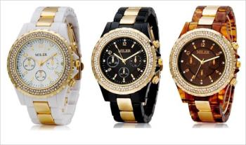 Stylish Ladies Watch, available in a range of colours, for only €19.95 with Free Delivery.