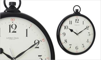 Over-sized Pocket Watch Style Wall Clock for only €17.95 with Free Delivery.