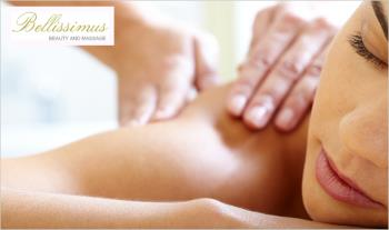 Unwind and enjoy a 40 min Full Back, Neck and Shoulder Massage only €25 at Bellissimus Beauty Salon, Long Mile Road, Dublin 12