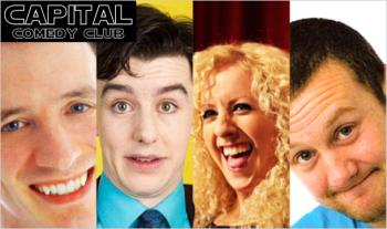 €20 instead of €50 for 2 Tickets with 2 Beers for the Award Winning Capital Comedy Club @ The Village, Liberty Lane, Dublin 2 - Valid for Saturday Nights
