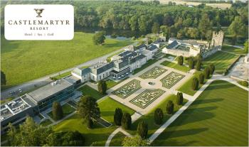 Summer Family Break in Castlemartyr: €399 for 2 Nights B&B Stay for 2 Adults & up to 2 Children in a Luxury Family Room with €50 Dining Credit, Kids Club with Children's High Tea & Full Use of the Leisure Facilities at the 5* Castlemartyr Resort, Cork