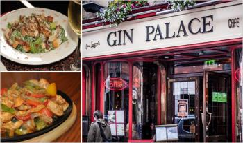 €24 for a 2 Course Meal for 2 with Tea/Coffee at Gin Palace Bar & Restaurant, Middle Abbey Street, Dublin 1