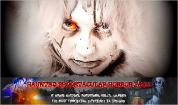 €20 instead of €40 for 2 Tickets to the Haunted Spooktacular Horror Farm this Halloween at Grove Gardens in Fordstown, Kells, Co. Meath