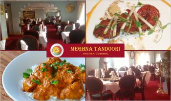 Back by Popular Demand: A La Carte Dinner for 2 or 4 People from just €21 at Meghna Tandoori Indian Restaurant, Terenure - Valid 7 Days