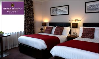 1 Night (€138) or 2 Nights (€198) Stay for 2 People including Full Irish Breakfast, a 2 Course Dinner, Afternoon Tea with Prosecco & Late Checkout at the 4-Star Silver Springs Moran Hotel, Cork City