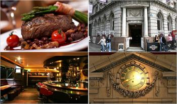 €24 for a 2 Course Meal for 2 with Tea/Coffee at The Grand Central Cafe, O'Connell Street, Dublin 2