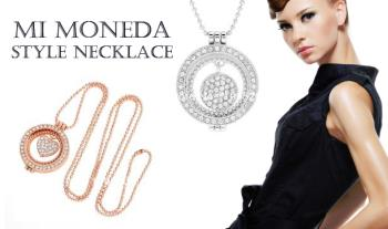€15 for a choice of Mi Mondeda style necklace with Free Delivery.