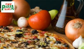 Extra Large 16'' Pizza from The Pizza Slice in Monkstown for just €10!