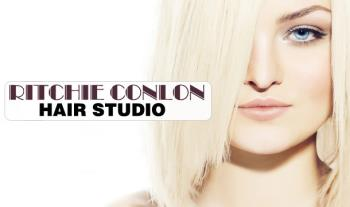 Wash, Cut, Blowdry & Conditioning only €19 or with Half Head of Meche Highlights only €39 at Ritchie Conlon Hair Studio, Saggart!