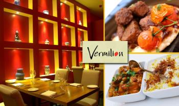 Enjoy a €40 Food Voucher from the A La Carte Menu in Vermilion Restaurant, Terenure for only €20