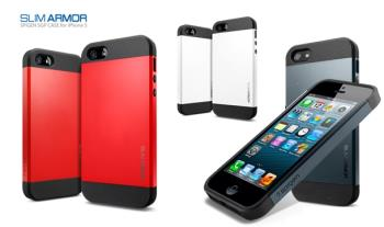 €11 for Spigen Slim Armor Case for iPhone 5 in a choice of colours, delivered.