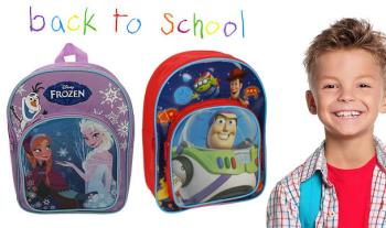 Disney's Frozen or Toy Story Back Packs from only €16 with Free Delivery.