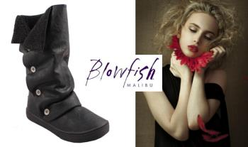 €39.95 for a pair of Blowfish Barley Fur Lined Mid Calf Boots, in a choice of sizes with Free Delivery (Worth €80!)
