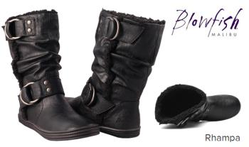 Blowfish Rhampa Fur Lined Mid Calf Boots, in a choice of sizes, for only €39.95 with Free Delivery (Worth €80!)