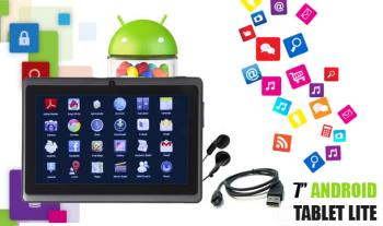 €69 for a 7 inch Android 4.2 Tablet Lite, Delivered. Includes USB Cable and Earphones.
