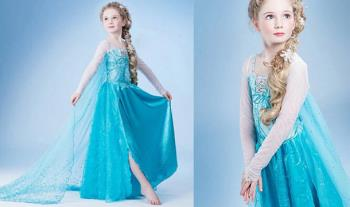 NEW DESIGN- Kids Frozen (Elsa) Inspired Princess Costume for only €20 with Free Delivery.