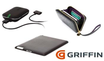 €9 for Griffin iPhone & iPad Accessories Bundle, delivered!  Includes iPad 2 Case, Battery Power Adapter & iPhone Wallet.