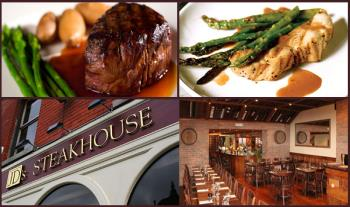 Enjoy a mouth-watering 4 Course Meal for 2 for only €49 at the renowned JD's Steakhouse, Terenure