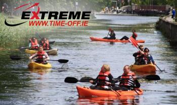 Kayaking on the Grand Canal: One or Two Hour Trip from €20 for 2 with Extreme Time Off.