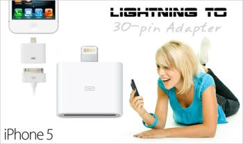 Lightning to 30-pin Adapter for only €12 with Free Delivery.