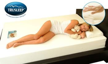Trusleep Ortho Dreamline Mattress with Memory Foam, in a range of sizes, from only €109 with Free Delivery.