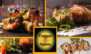 Experience Elegance for only €29.99 with a 3 Course Meal for 2 at Copper & Spices, Meath