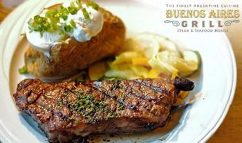 €30 for an Argentinian Barbeque for 2 including a Glass of Wine each at Buenos Aires Grill Seafood & Steakhouse, Dublin 2
