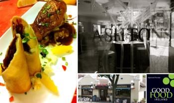 2 Course Dinner with a Bottle of Wine for 2 at Ashtons Gastropub, Clonskeagh for only €55!