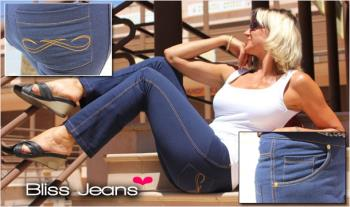 Buy One Get One Free - €29.99 for a 2 pairs of Super Sexy, Super Comfy Bliss Jeans (Dark Denim Colour),  Delivered.