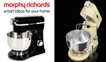 Morphy Richards Professional 800w Diecast Mixer in Black or Cream for only €199 with Free Delivery (was €500).