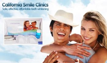 €23 for a California Smile Zero Peroxide Home Teeth Whitening Kit, delivered!