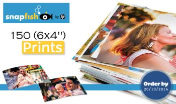 """€16 for 150 (6x4"""") Prints Delivered from Snapfish, Nationwide"""