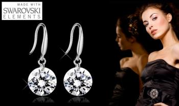 €6.99 for one pair OR €12 for two pairs of Drop Earrings made with Swarovski Elements, delivered!