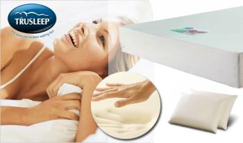 €113.99 for either a Single, Double, King or Super King Memory Foam Mattress and Pillows, delivered.